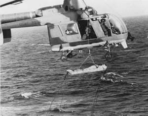 HH43F 639716 DET6 38ARRS-SChinaSea-USSChemung Oct Dec67 USAF